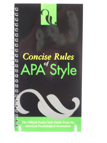 what is apa format associatedegreeonline com