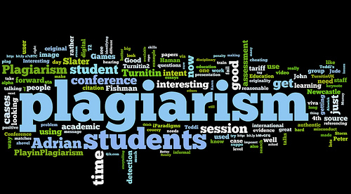 plagiarism is a mistakes in a research paper